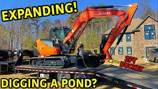 We Bought The Most EPIC Excavator Ever!!!