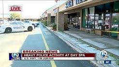 Heavy police presence outside spa in Jupiter