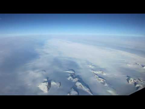 Over Greenland in HD