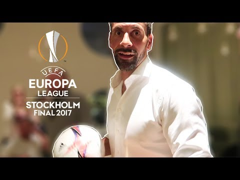 TWO TOUCH FOOTBALL WITH RIO FERDINAND | EUROPA LEAGUE FINAL 2017