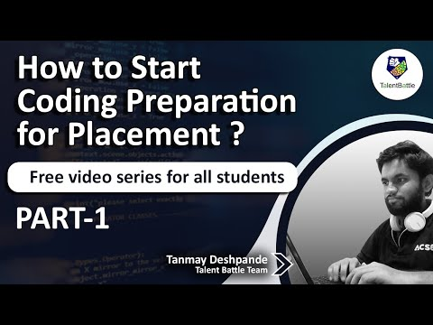 Coding Preparation For Placements 👉 Coding Questions For Placements Must See! (Part1)