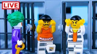 LEGO City Prison Break STOP MOTION LEGO Crooks Break Free! | LEGO Catch The Crooks | By Billy Bricks