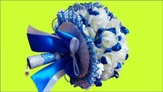 Такой Букет невесты и бросить на свадьбе жалко DIY
