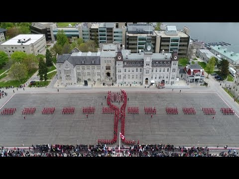 RMC 2017 Graduation Parade