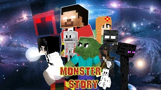 Monster School : SEASON 2 ALL EPISODE - Minecraft Animation