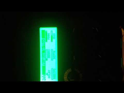 Line 6 M9 Momentary Expression Test #4 Analog Delay Mode