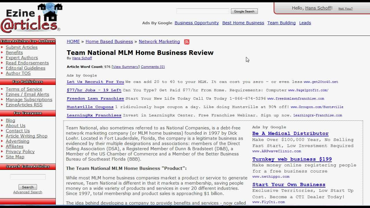 Team National Reviews - What is Team National exactly? - YouTube