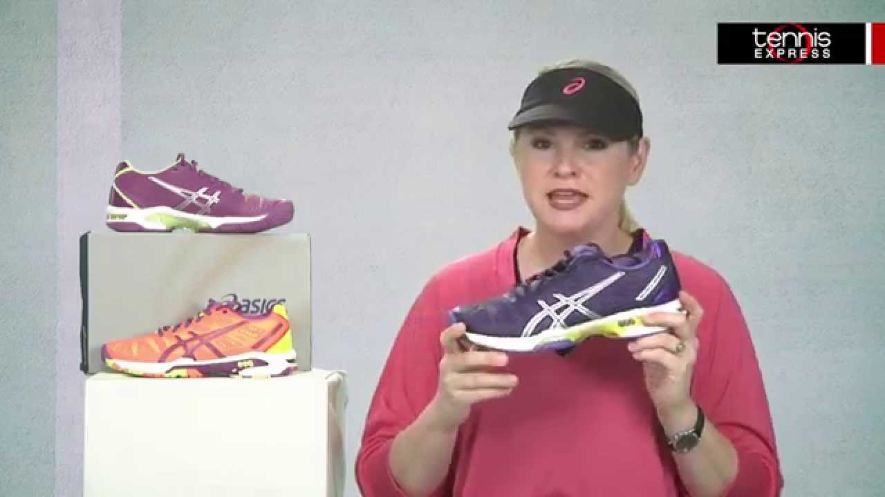 Respetuoso En detalle margen  ASICS Women's Gel Solution Speed 2 Shoe Review - Tennis Express - YouTube