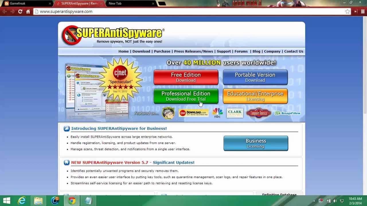 superantispyware activation code