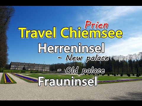 [เที่ยวยุโรป] Traveling Lake Chiemsee - Herrenchiemsee (New Palace) : Germany Travel Vlog Ep69