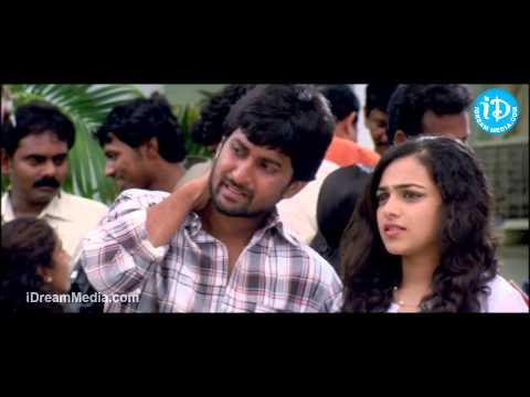 Nithya Menon, Nani Best Scene - Ala Modalaindi Movie