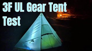3F UL Gear Tent Test - Ultralight Bargain ? thumbnail