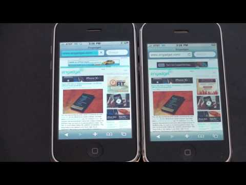iPhone 3GS vs. iPhone 3G