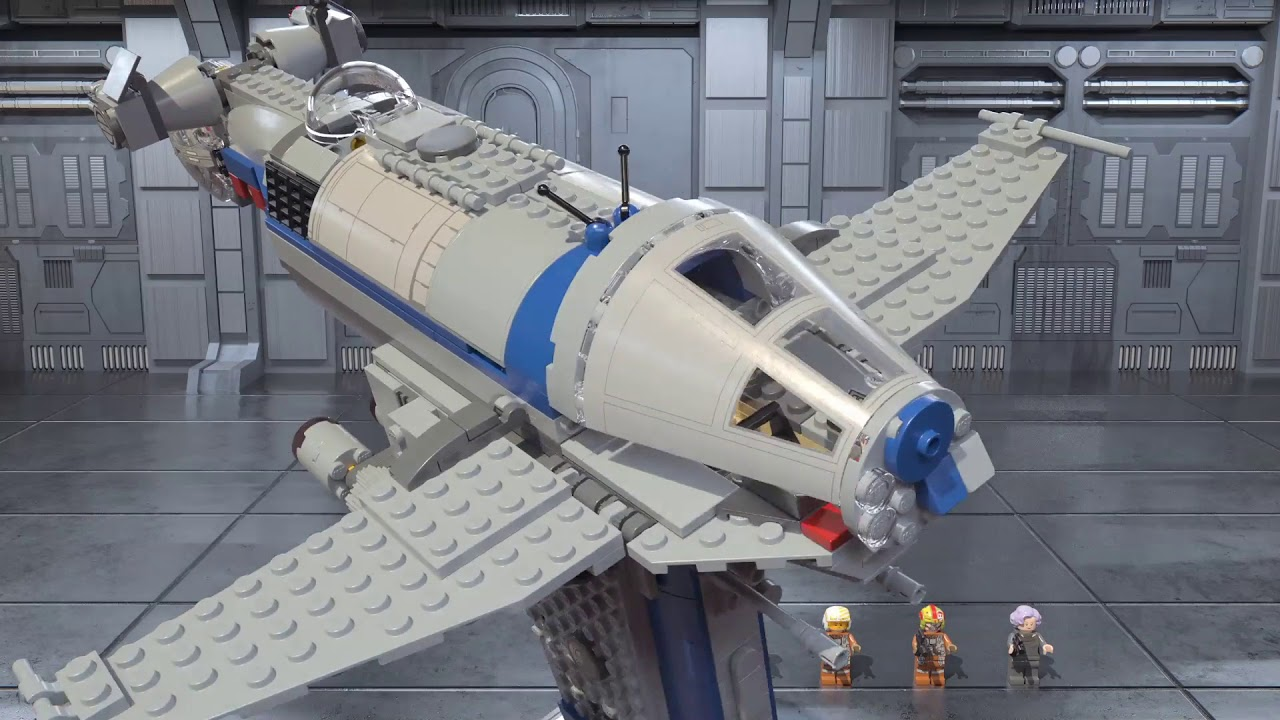 Resistance Bomber Lego Star Wars 75188 Product Animations Youtube