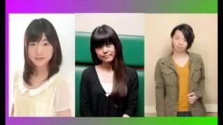 【キュン死】沢城みゆきと木村良平が後輩の小澤亜李にキュンさせられる ...