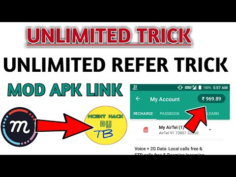 ⚫ {MCENT MOD APK}LINK MCENT UNLIMITED REFER AND EARN IN ONE DEVICE!!