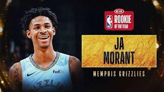 Ja Morant Wins #KiaROY Award   2019-20 NBA Season
