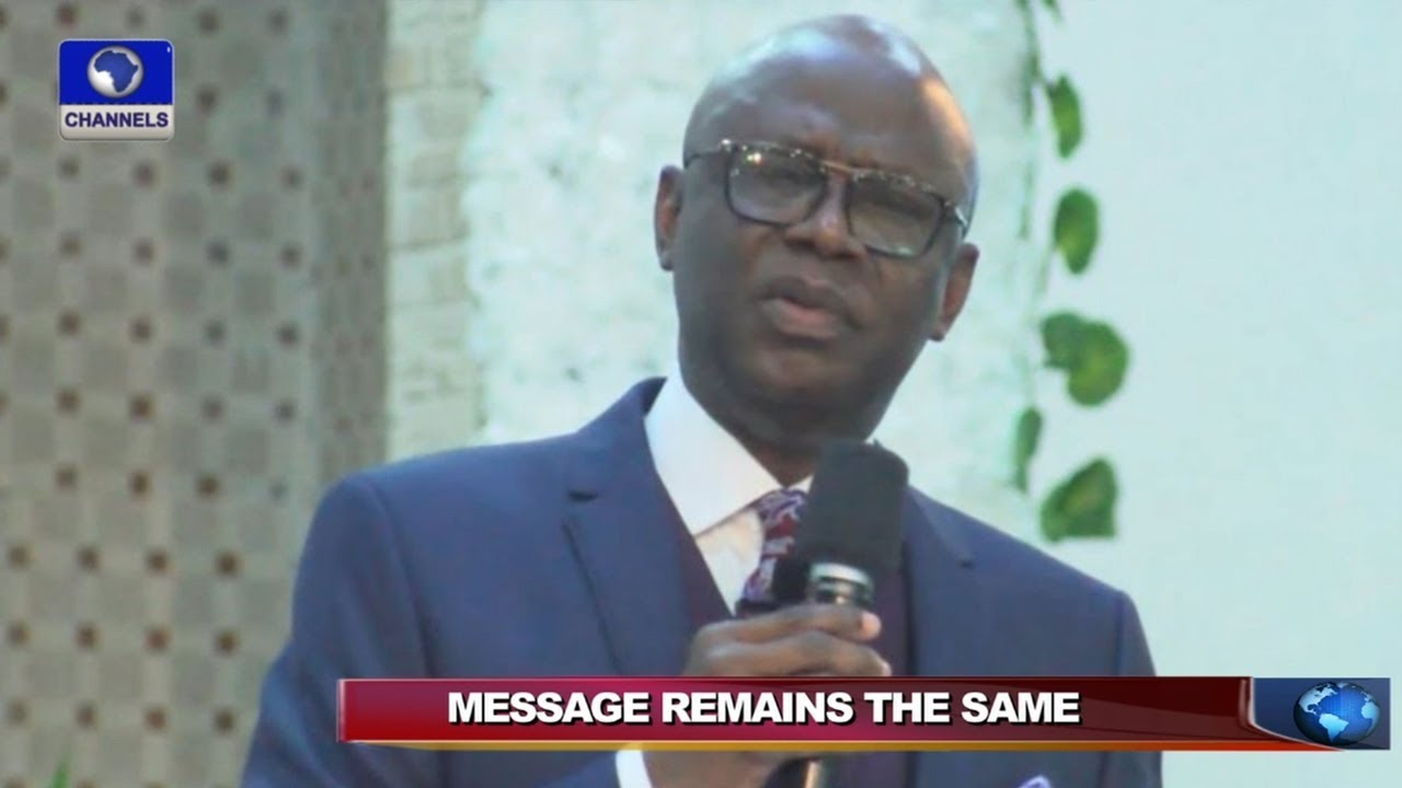 Pastor Bakare Clears Air On Political Ambition