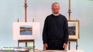 Pastel Techniques with Paul deMarrais - Plein Air vs Studio Painting, Working From Photographs