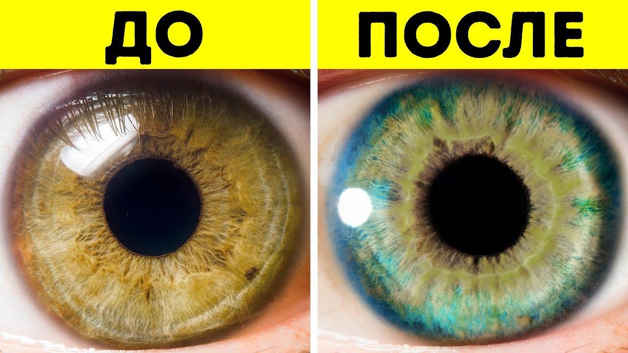 Цвет глаз у людей как называется