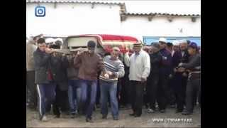 Груз-200 привезли в село Капланбек Южного Казахстана