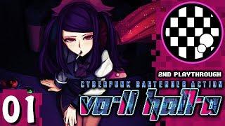 VA-11 HALL-A: Cyberpunk Bartender Action | PART 1 | 2nd Playthrough