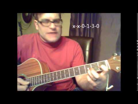 """How to play """"Right Here, Right Now"""" by Jesus Jones on acoustic guitar"""