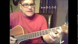 "How to play ""Right Here, Right Now"" by Jesus Jones on acoustic guitar"