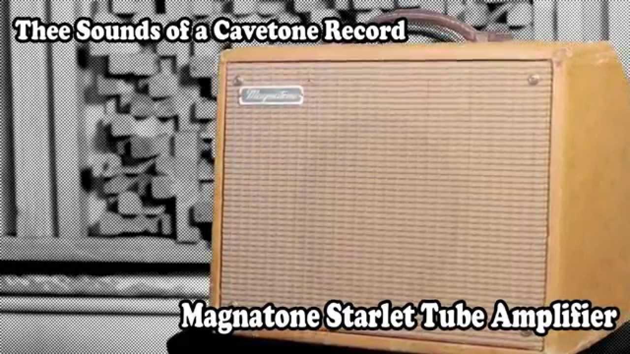 Magnatone Starlet Amplifier Demonstration