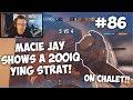 Macie Jay Shows A 200 IQ Ying Strat On Chalet!?!   Rainbow Six: Siege  Twitch Clips #86