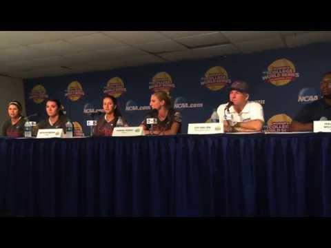 "Florida coach Tim Walton says senior pitcher Lauren Haeger had ""good stuff"" in win against LSU"