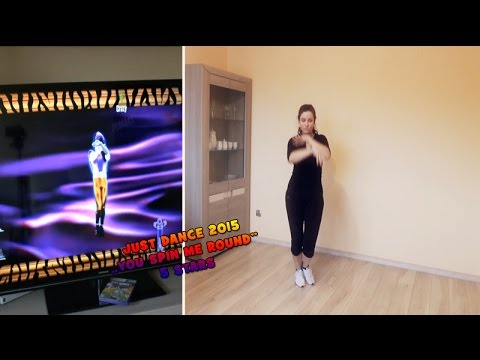 Just Dance 2015 - You spin me round 5 stars PL