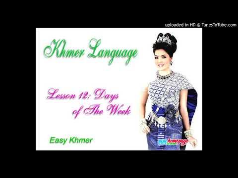 Giáo trình Đàm thoại Việt Khmer bài 12