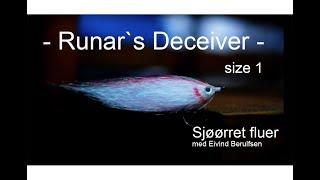 Sjøørretfluer Runar`s Deceiver