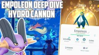 Empoleon Deep Dive: Hydro Cannon In Pokemon Go!