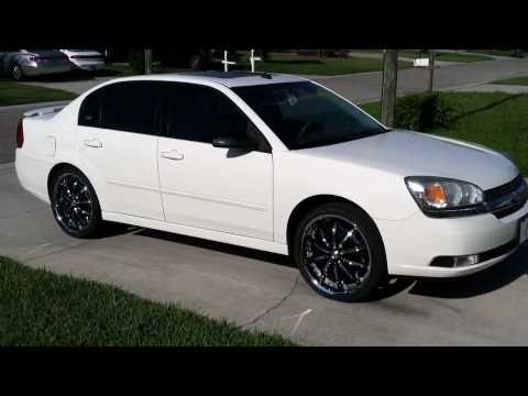 2005 chevy malibu on 20 rims  YouTube