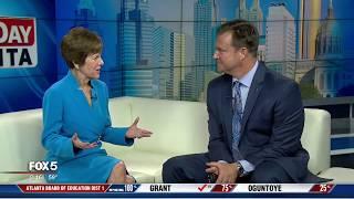 Atlanta mayoral candidate Mary Norwood speaks about runoff