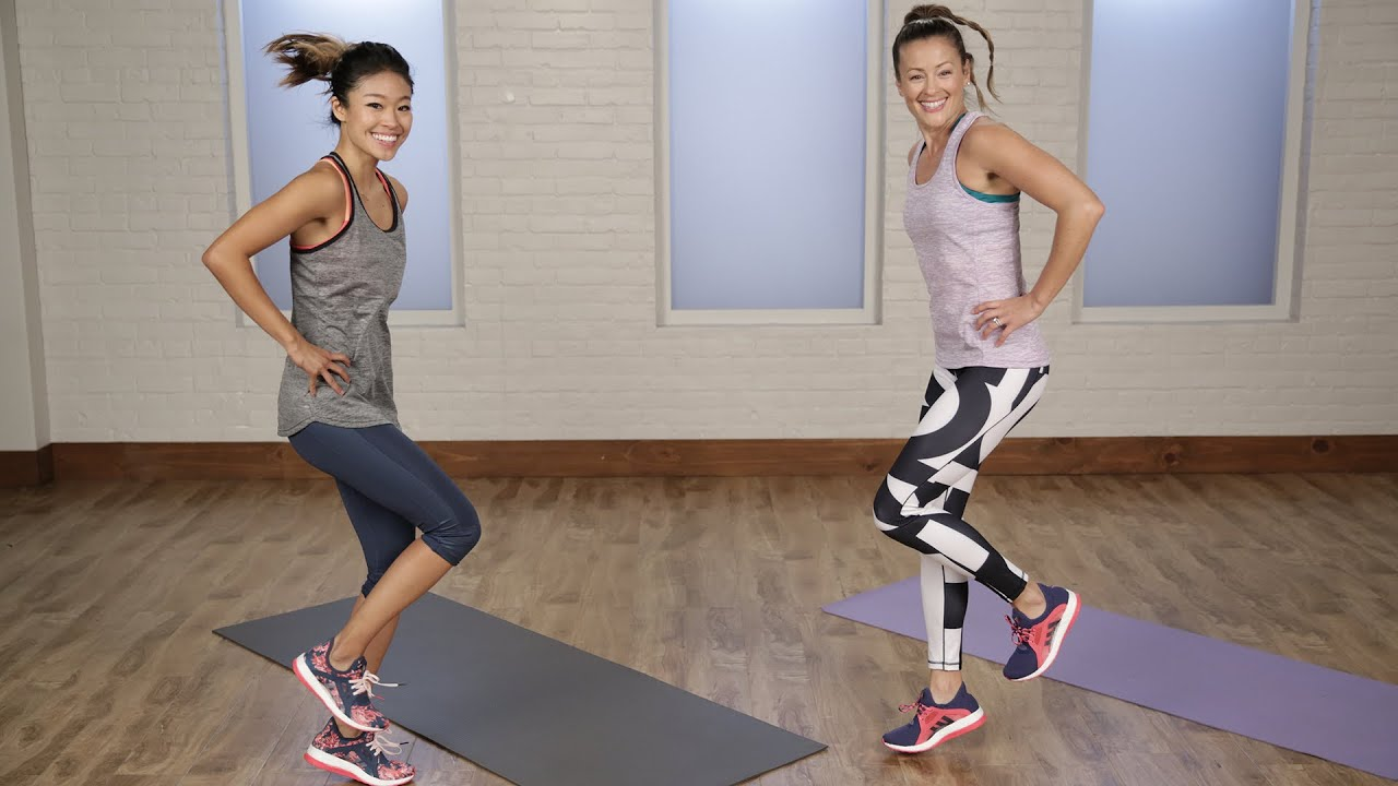 10-Minute Strength Training Workout For Runners Class FitSugar - YouTube