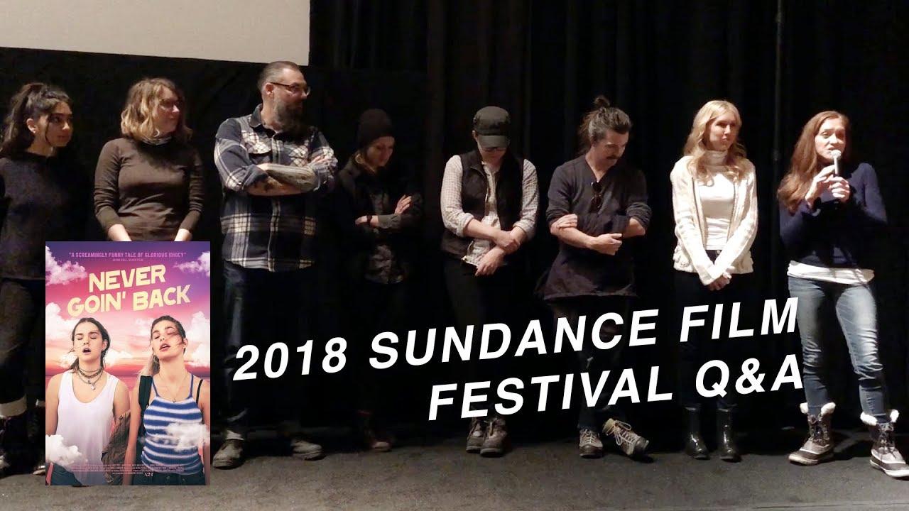 Never Goin' Back | Sundance 2018 Q&A