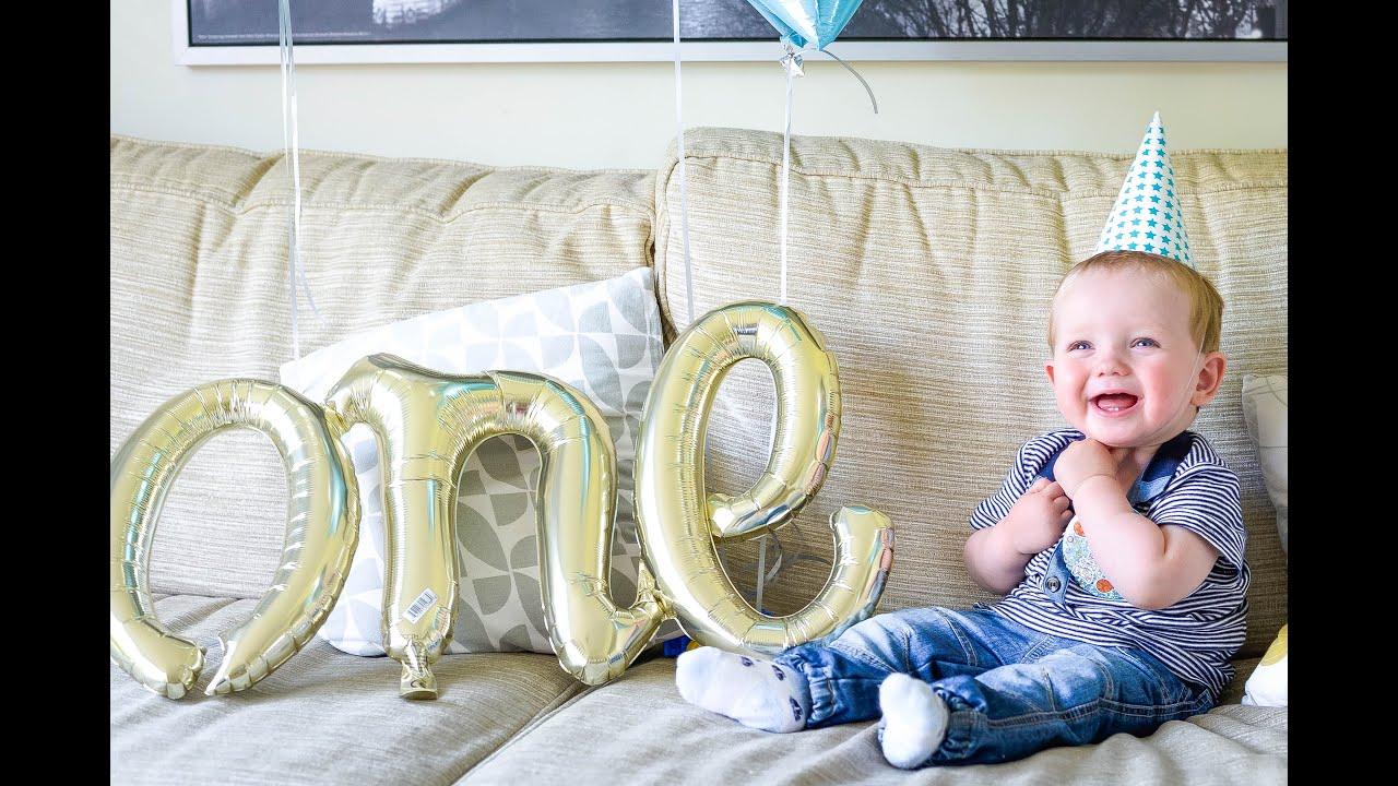 LOGANu0027S 1ST BIRTHDAY   BABYu0027S FIRST BIRTHDAY PARTY U0026 PEPPA PIG WORLD | Alex  Gladwin