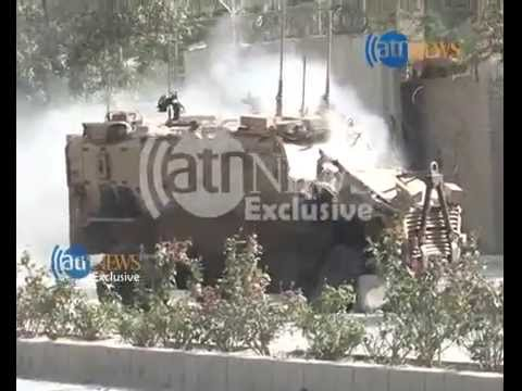 Footage of suicide bombing hit foreign troop convey in capital Kabul
