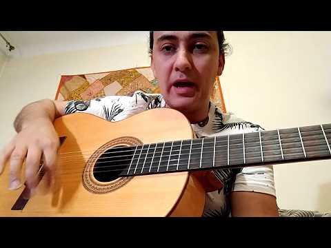 Flamenco guitar lesson 2. Rumba strumming patterns