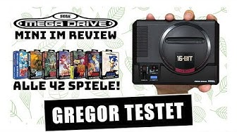 Gregor testet SEGA Mega Drive Mini im ultimativen Hardware-Review mit allen 42 Spielen (Test)