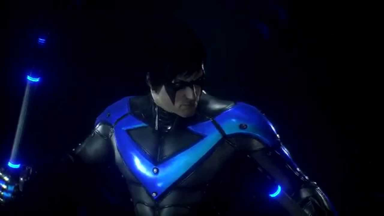 Batman Arkham Knight - Original Arkham Nightwing Skin ...