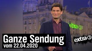 Extra 3 vom 22.04.2020 mit Christian Ehring