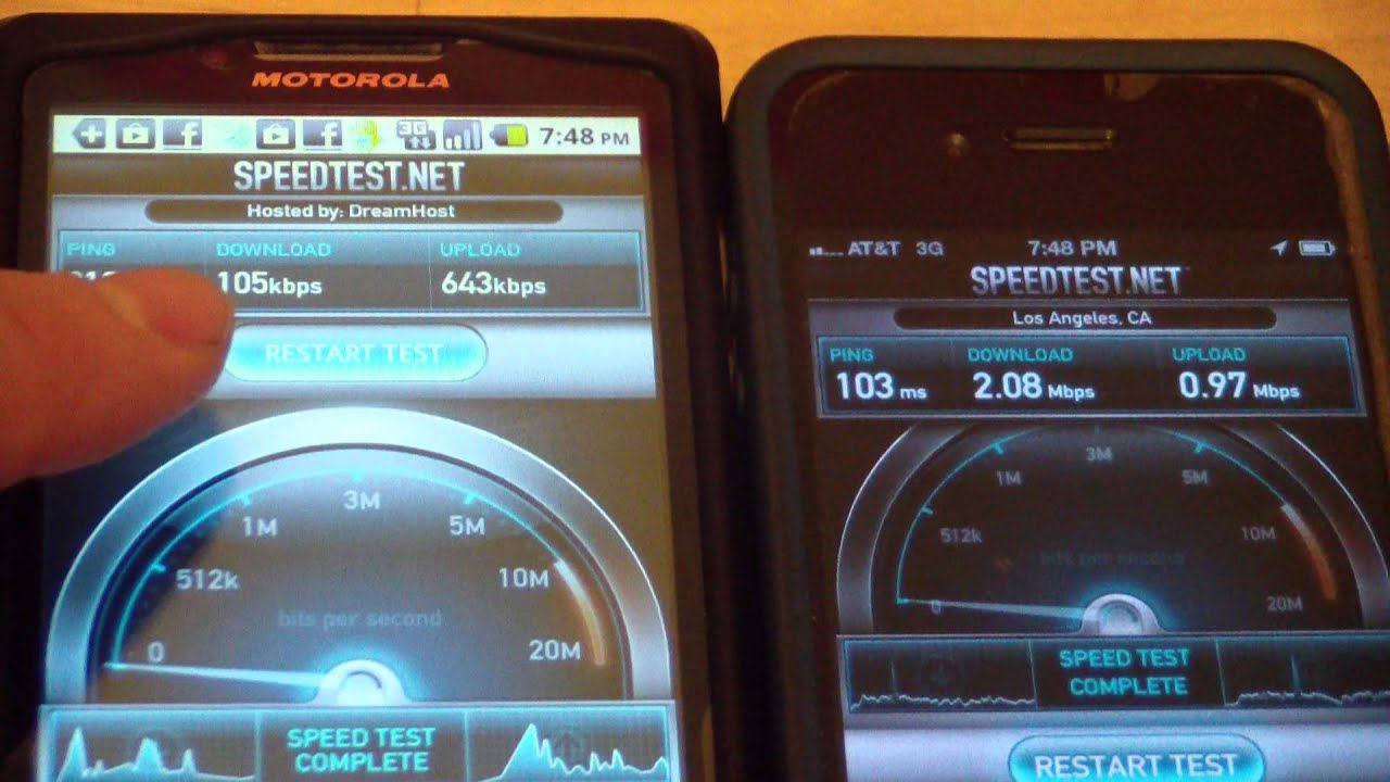 मोबाइल की इन्टरनेट speed सही न होने के कारण