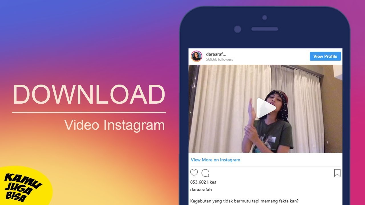 cara download video ig tanpa aplikasi
