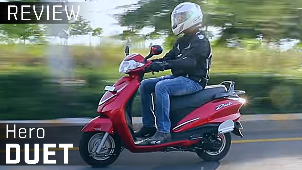 Hero Duet Video Review Zigwheels Youtube