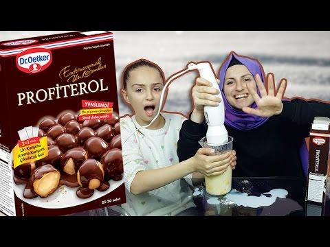 PROFİTEROL TARİFİ - Dr. Oetker...