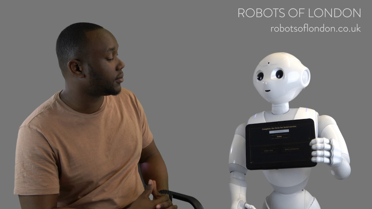 Pepper The Hotel Concierge — Robots Of London